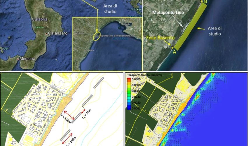 Shoreline Stabilization Project at Metaponto